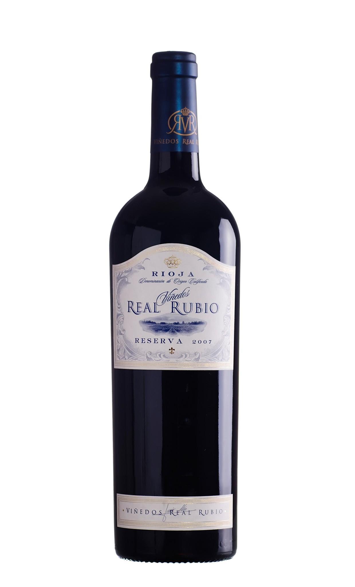 Rioja- Vinedos Real Rubio Reserva 2007 DOCa