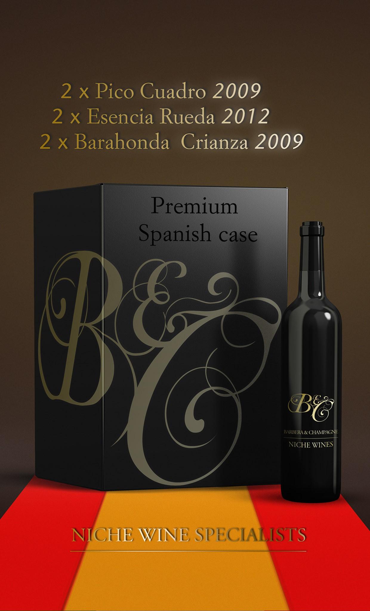 Our Premium Spanish Case
