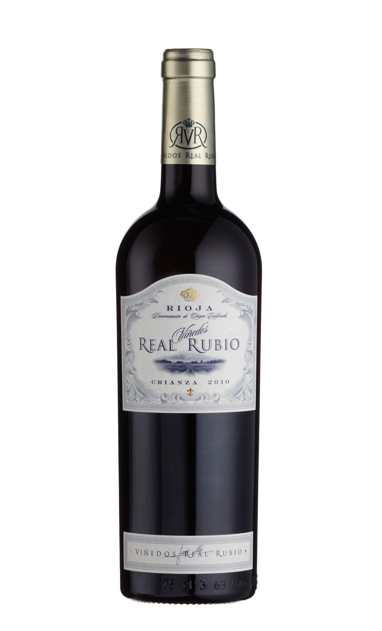 Rioja-Vinedos Real Rubio Crianza 2010 DOC